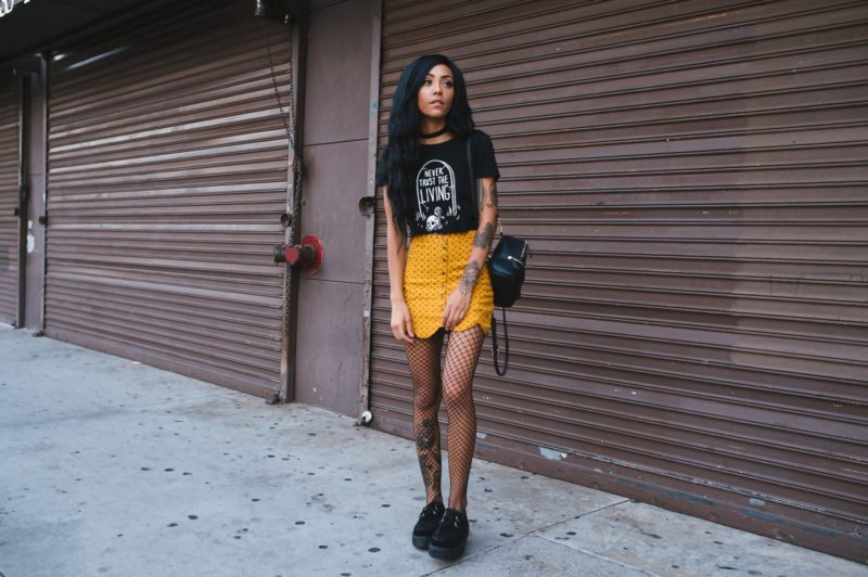 Goth, Black, Alternative, Nu Goth, Grunge, Tattoos, Style, Outfit Of the Day, Ootd,
