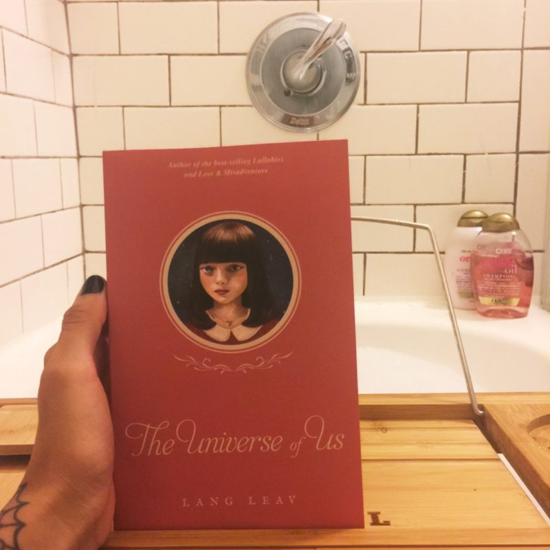 Book Review, Dream, Fiction, Lang Leav, Novel, Poetry, Prose, Review, Romance, Teen, The Universe of Us, Tumblr, Trend
