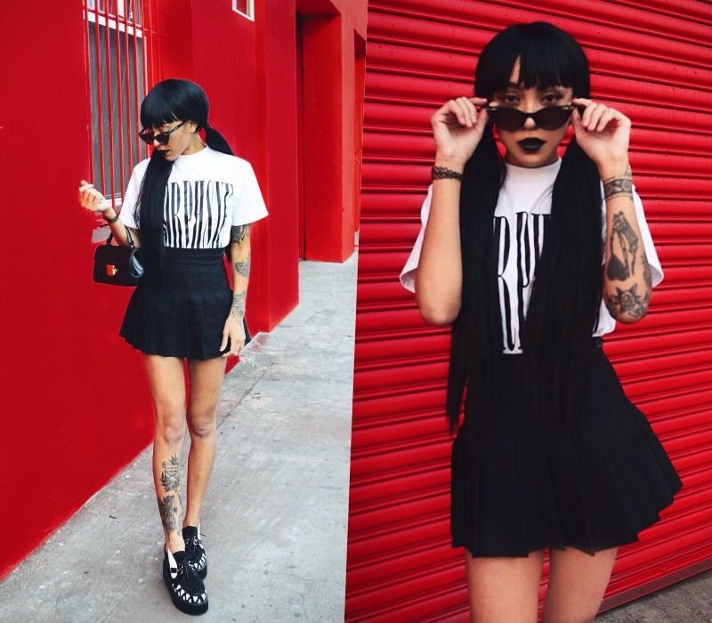 grunge, ootd, style, makeup, alternative, nugoth, goth, punk, inkedbabes, girlswithtattoos, blacktattoos, tattoos, tattoo, neottraditional, lookbook, gothfashion, blackoufits, grungeoutfits, grungeaesthetic, 90s, fashion, style, tumblr grunge